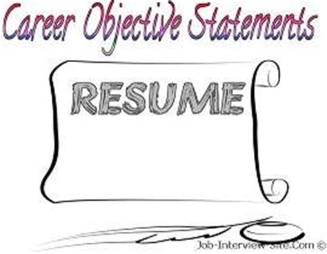 The Best Career Objectives to List on a Resume Chroncom